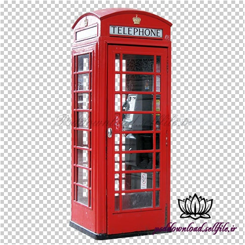 تصویر png کیوسک تلفن | Telephon Booth  Transparent Image