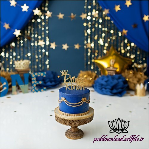 بک دراپ تولد تم پرنس -کد 5913