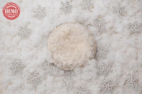 بک دراپ نوزاد برف کریسمس -کد 6309