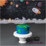 2098263x150 - بک دراپ تولد تم فضا -کد 2555