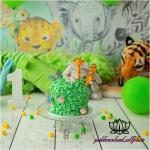 بک دراپ تولد تم حیوانات جنگل -کد 6065