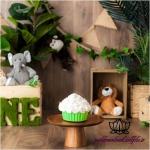 بک دراپ تولد تم حیوانات جنگلی -کد 6077