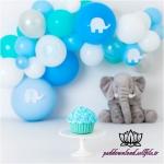 بک دراپ تولد تم فیل -کد 6093