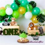 بک دراپ تولد تم حیوانات جنگل-کد 6098