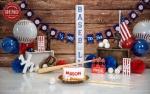 بک دراپ تولد تم بیسبال -کد 6457