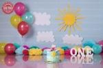 بک دراپ تولد تم روز آفتابی -کد 6458