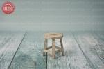 بک دراپ کودک چهارپایه چوبی -کد 4686