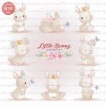 وکتور کارتونی خرگوش های کوچک-کد 23
